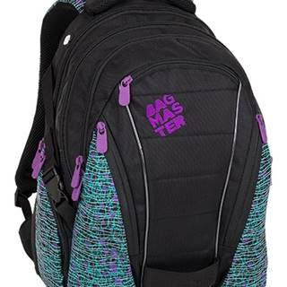 Bag 8 C Black/white/violet