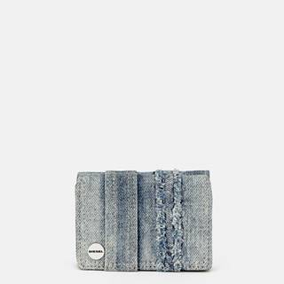 Modrá dámska rifľová peňaženka Diesel