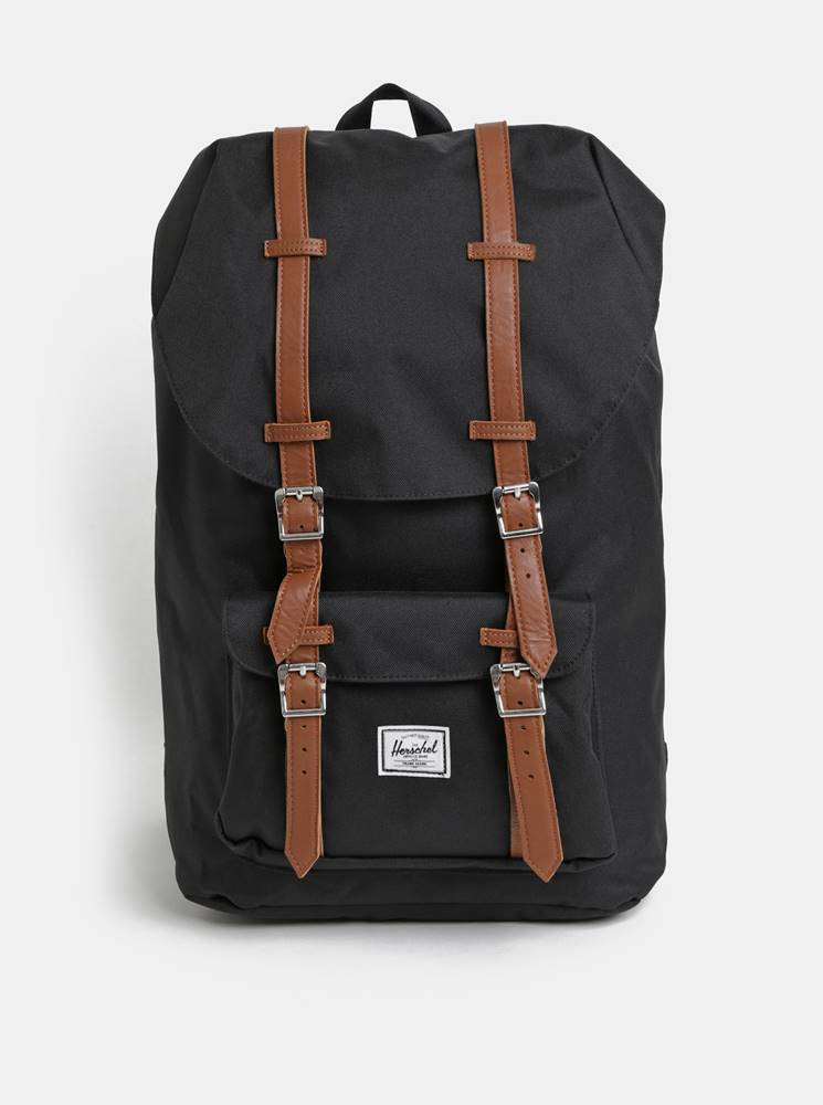 Herschel Supply Čierny batoh Herschel Supply Little America 25 l