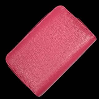 Kožená peňaženka WB009 Fuxia