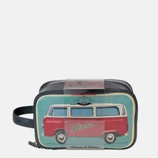 Modrá pánska kozmetická taška Something Special