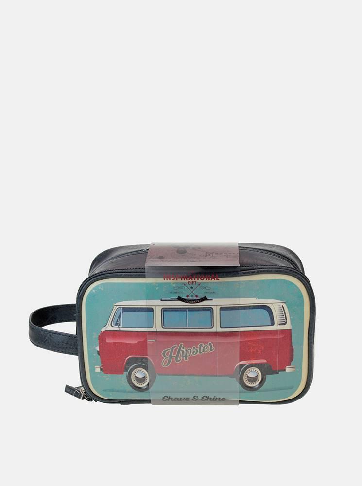 something special Modrá pánska kozmetická taška Something Special