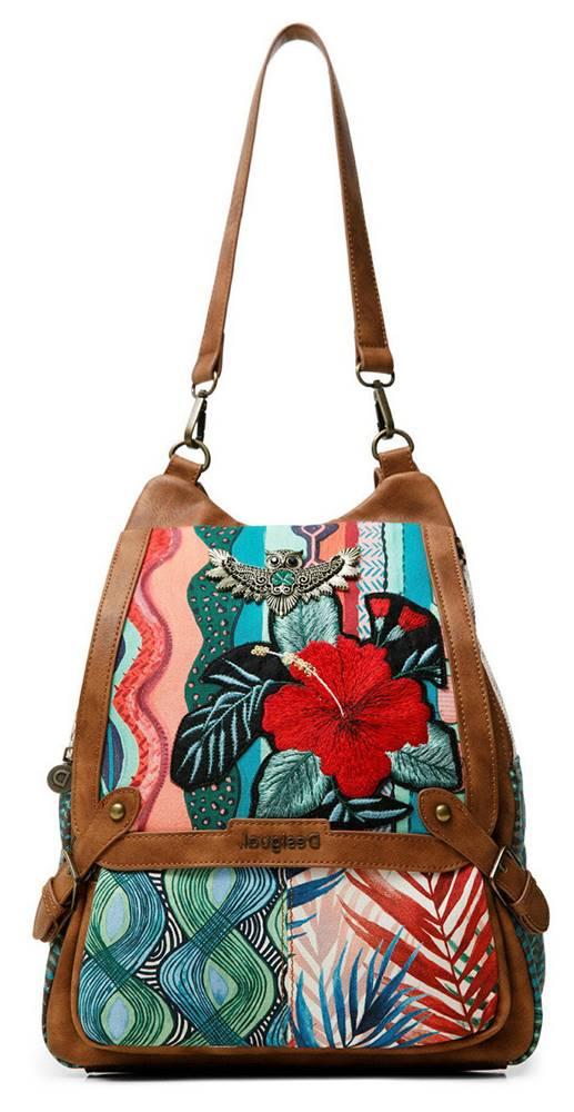 Desigual Desigual farebné 2v1 kabelka Back Pitahaya Bibury