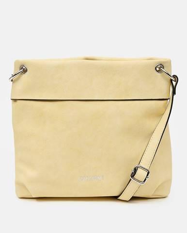 Žltá crossbody kabelka Zabaione