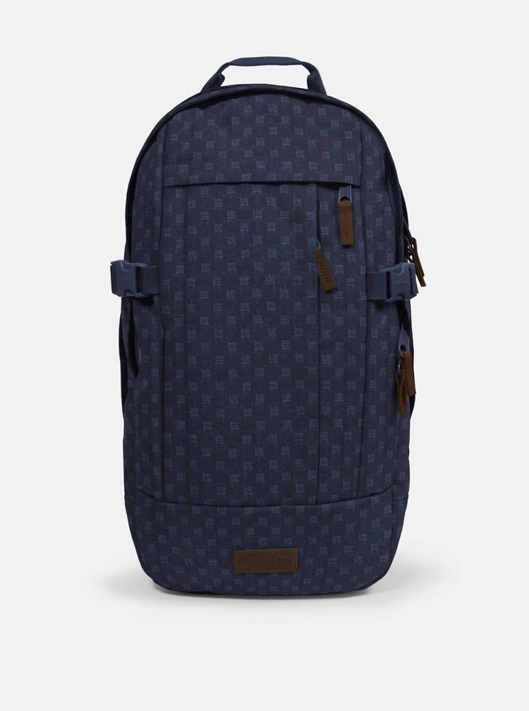 Tmavomodrý vzorovaný batoh ...