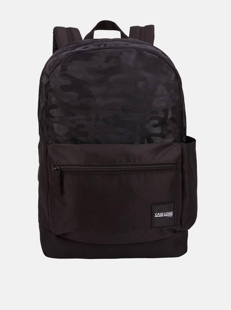Case Logic Čierny vzorovaný batoh Case Logic Founder 26 l