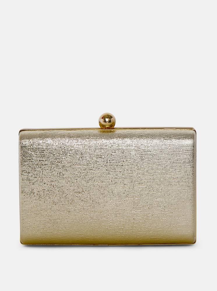 Dorothy Perkins Listová kabelka v zlatej farbe Dorothy Perkins