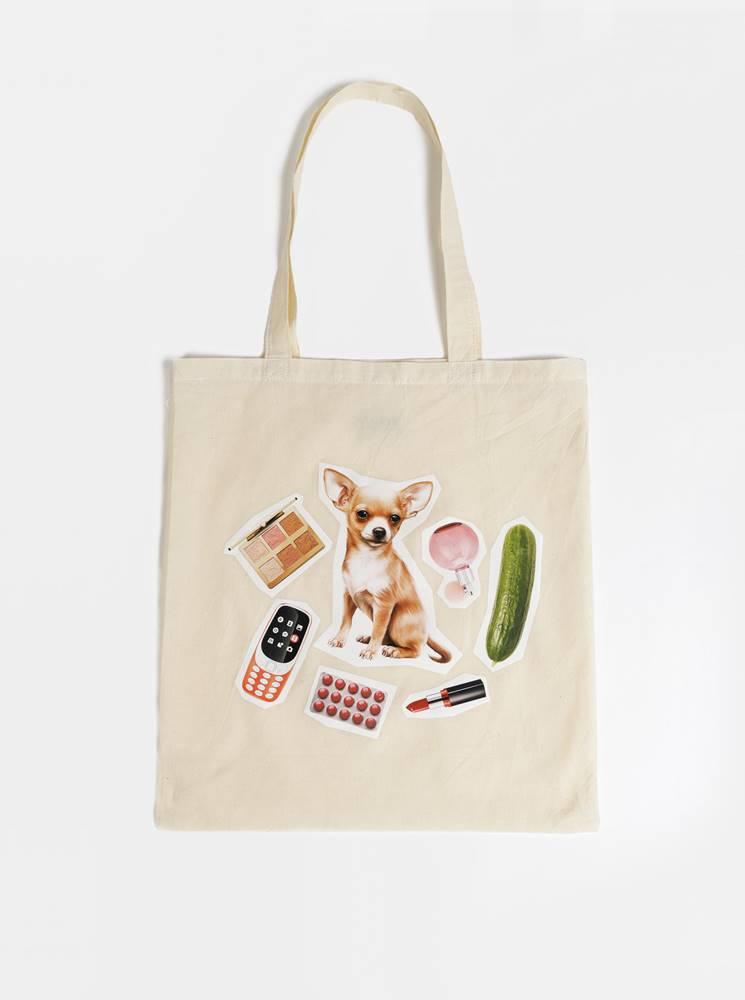 ZOOT Original Krémová plátená taška ZOOT Original Moje taška