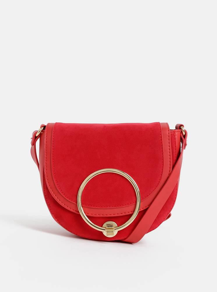Haily´s Červená crossbody kabelka v semišovej úprave Haily´s Ciara