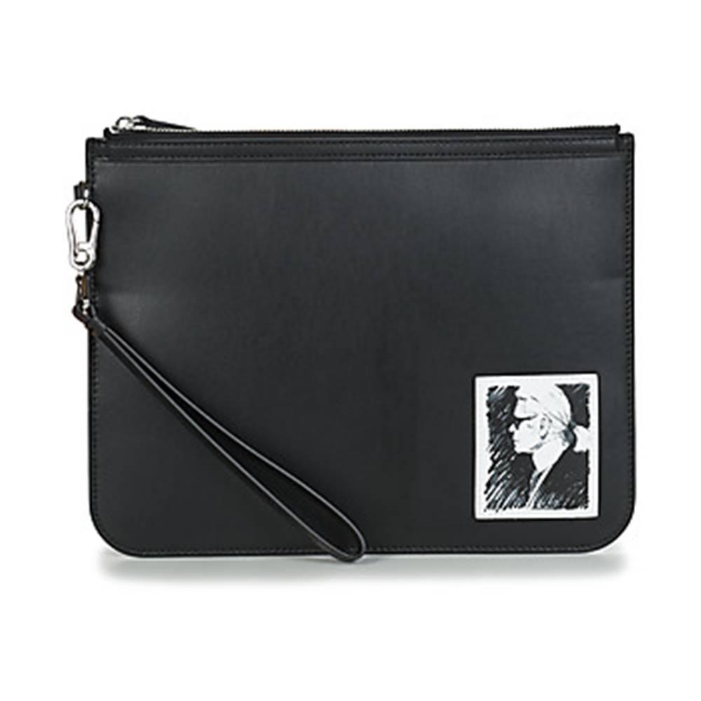 Karl Lagerfeld Vrecúška/Malé kabelky Karl Lagerfeld  KARL LEGEND CLUTCH ELEGANCE