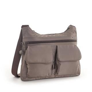 Shoulderbag Prarie RFID Sepia brown Tone on Tone