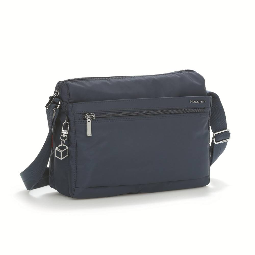 Hedgren Hedgren Shoulder bag Eye M RFID Dress blue