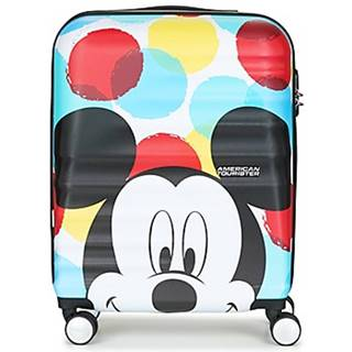 Pevné cestovné kufre American Tourister  MICKEY CLOSE UP 55CM 4R