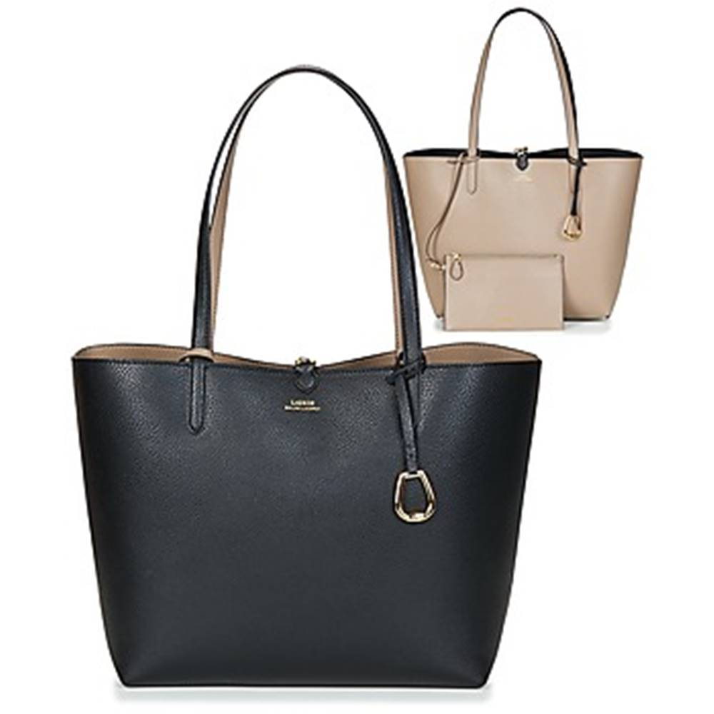 Lauren Ralph Lauren Veľká nákupná taška/Nákupná taška Lauren Ralph Lauren  MERRIMACK REVERSIBLE TOTE MEDIUM